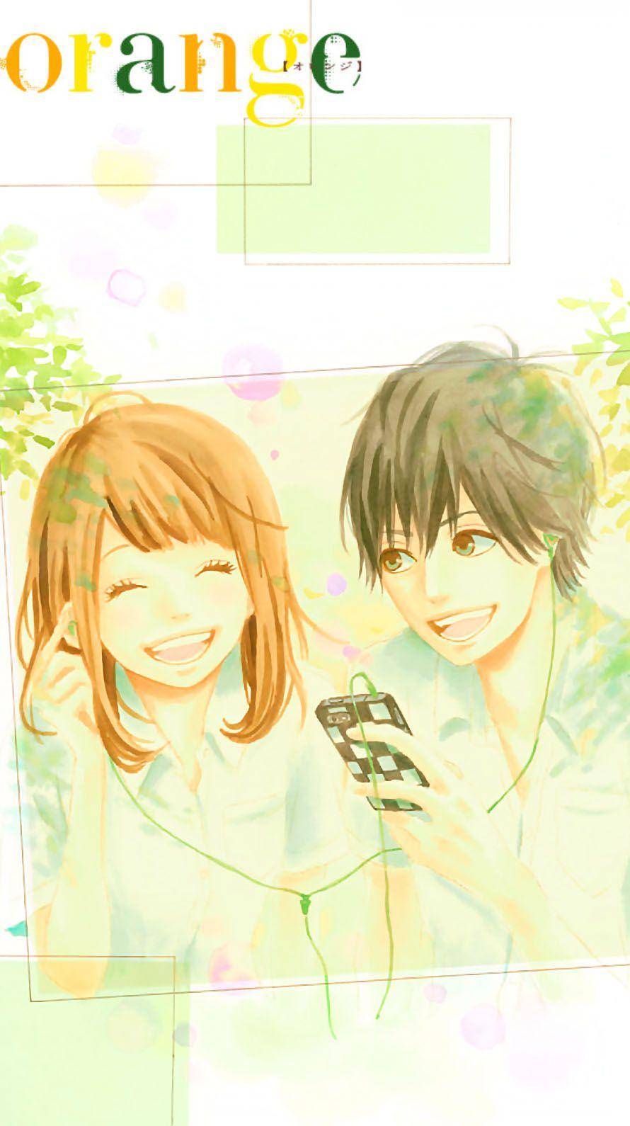 orange(漫画・アニメ)iPhone壁紙