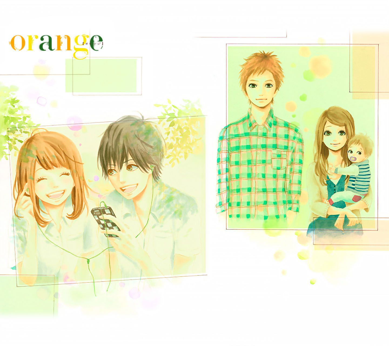 orange(漫画・アニメ)Android壁紙