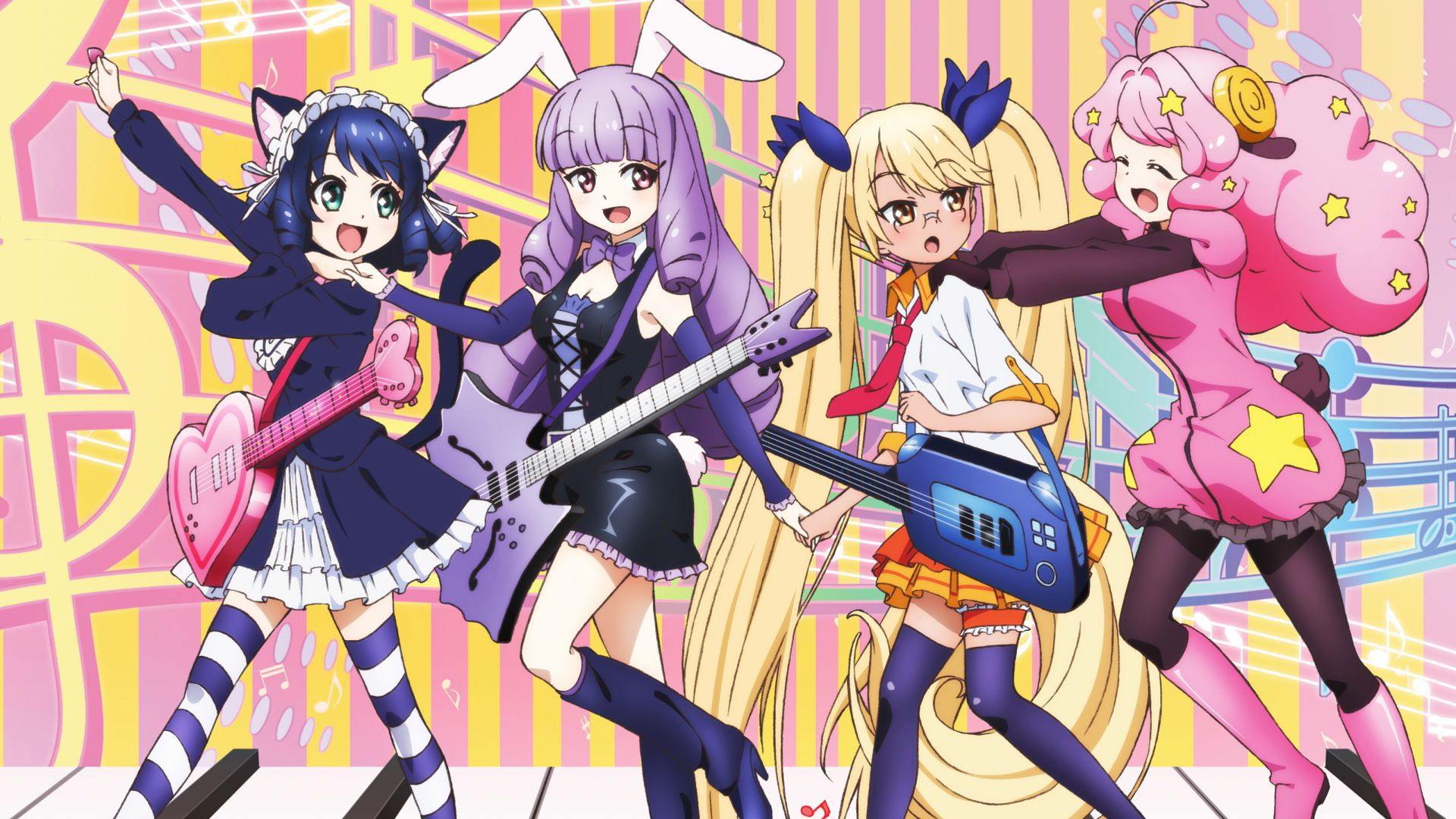 SHOW BY ROCK!! PC壁紙
