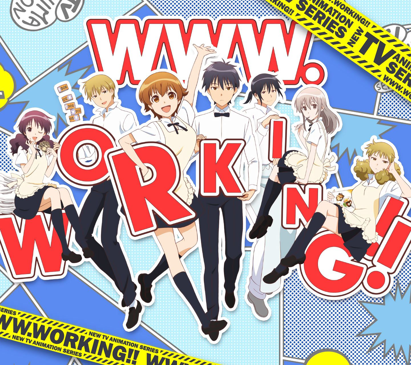 WWW.WORKING!!-Android壁紙