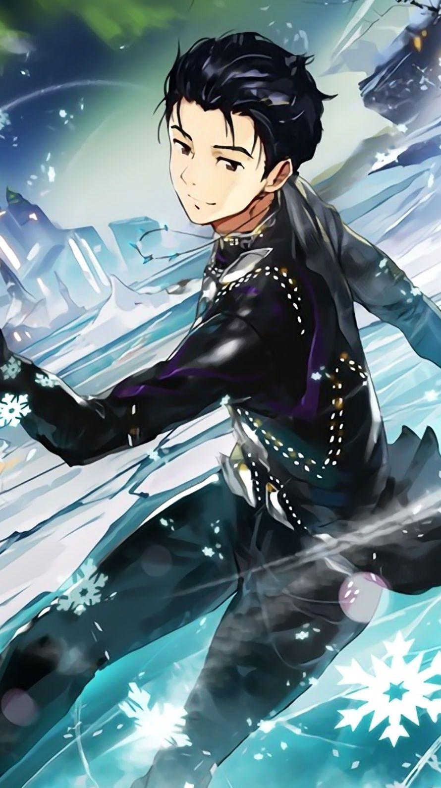 ユーリ!!! on ICE iPhone壁紙