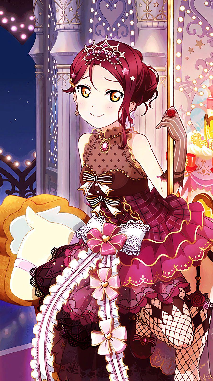 桜内梨子iPhone壁紙