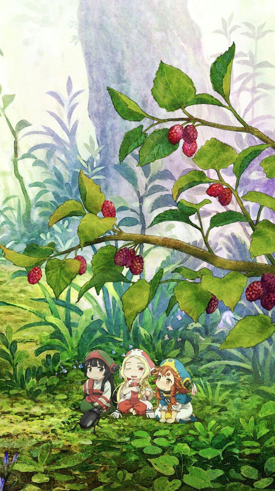 ハクメイとミコチ 木の実