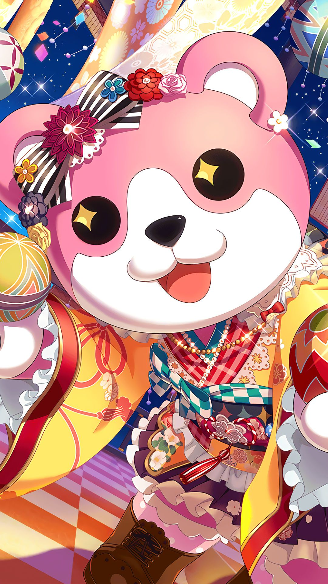 バンドリ-ガルパ-ミッシェル/奥沢美咲iPhone壁紙,Androidスマホ用画像
