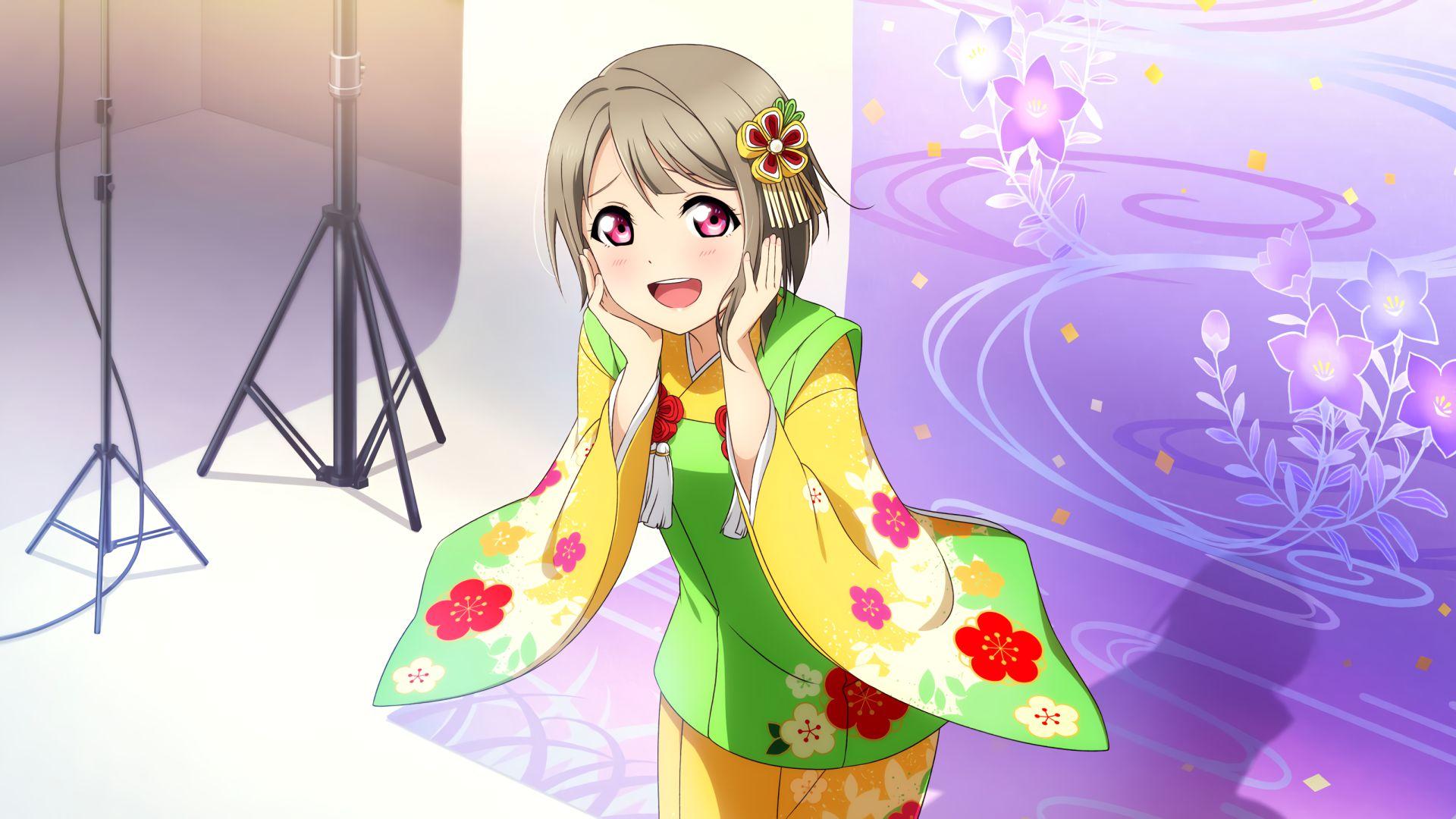 ラブライブ虹ヶ咲-中須かすみPC壁紙