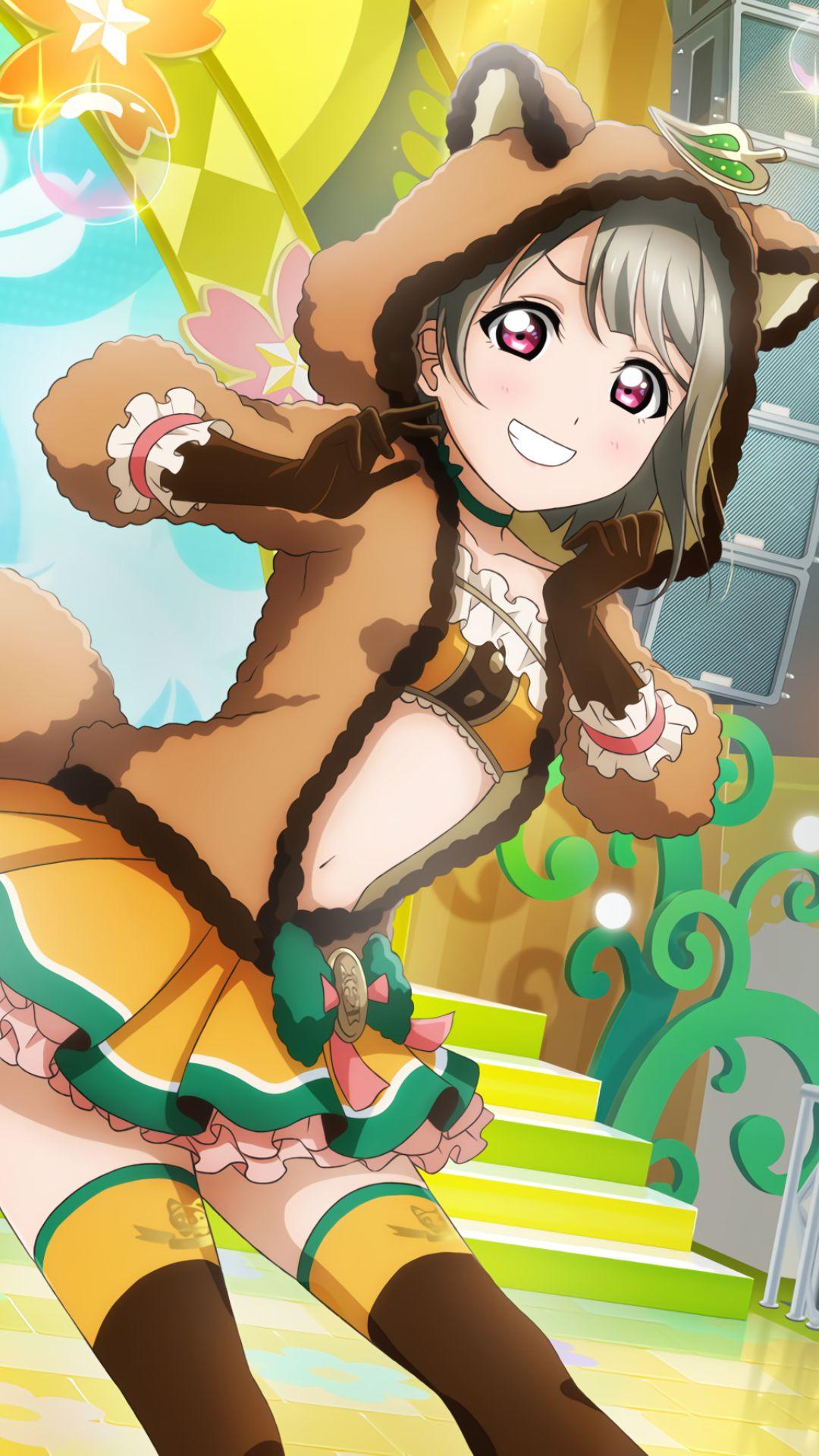 ラブライブ虹ヶ咲-中須かすみiPhone壁紙,Androidスマホ用画像